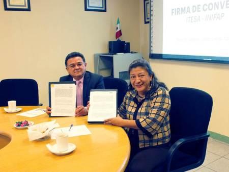 El ITESA firma convenio de colaboración con el INIFAP2
