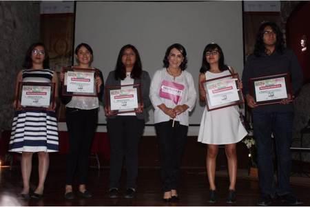 """Encabeza Erika Rodríguez premiación del concurso """"Creativos por la Igualdad""""2"""