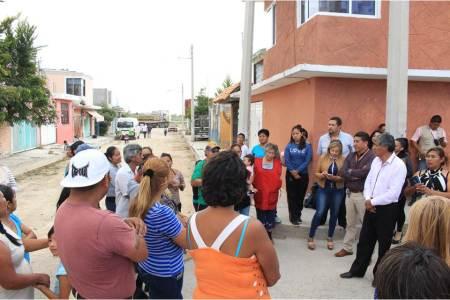 Gabriel García Rojas anuncia obras para la colonia Ex Presidentes