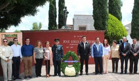 Guardia de Honor al ex gobernador José Lugo Guerrero