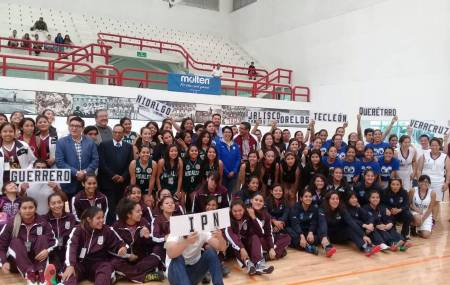 Hidalgo se presenta en el Nacional de Baloncesto Sub21