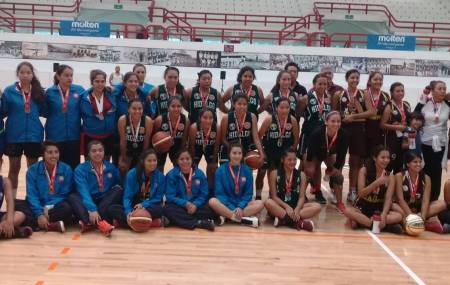 Hidalgo subcampeón Nacional de Baloncesto Sub21
