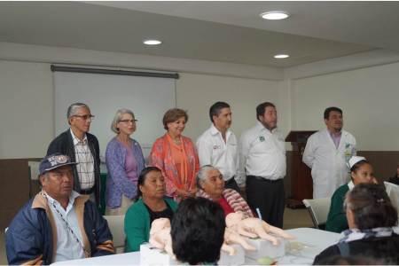 IMSS Hidalgo llevó a cabo curso internacional Parab en UMR de Metepec