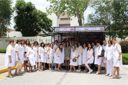 Inaugura el Voluntariado del IMSS tiendita de apoyo2