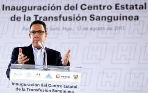 Inauguró Omar Fayad el Centro Estatal de Transfusión Sanguínea1