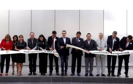 Inauguró Omar Fayad el Centro Estatal de Transfusión Sanguínea2