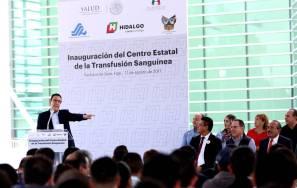 Inauguró Omar Fayad el Centro Estatal de Transfusión Sanguínea6