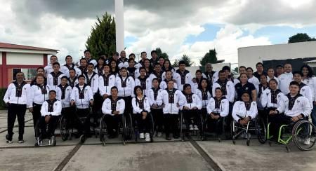 INHIDE entregó uniformes a seleccionados de Paralimpiada Nacional.jpg