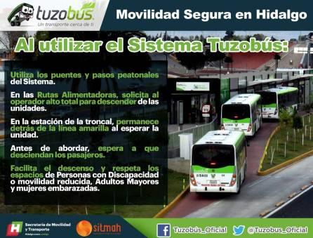 La SEMOT promueve una movilidad segura entre usuarios de transporte público colectivo, individual y masivo 1