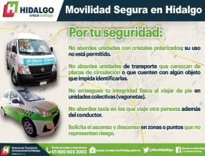La SEMOT promueve una movilidad segura entre usuarios de transporte público colectivo, individual y masivo 2