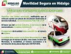 La SEMOT promueve una movilidad segura entre usuarios de transporte público colectivo, individual y masivo 3