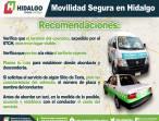La SEMOT promueve una movilidad segura entre usuarios de transporte público colectivo, individual y masivo 4