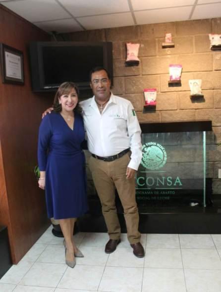 Liconsa apoyará a 150 familias con apertura de lechería en la colonia Felipe Ángeles