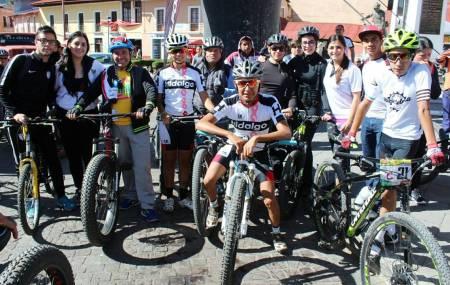 """Llegó a Real del Monte el """"Bici-tando tu bosque""""1.jpg"""