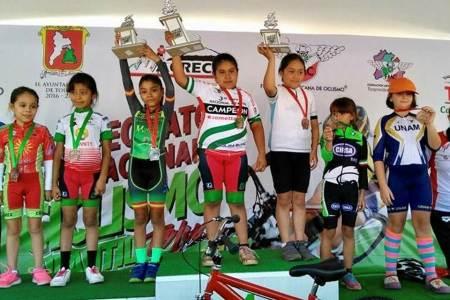 Obtienen hidalguenses segundo lugar en Pre Nacional de Ciclismo Infantil