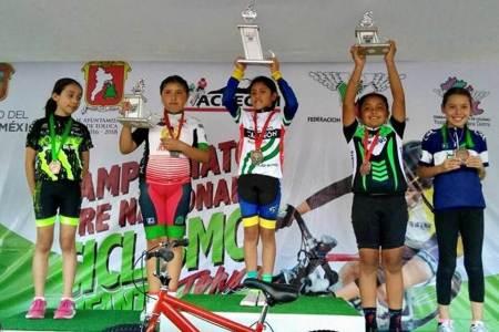 Obtienen hidalguenses segundo lugar en Pre Nacional de Ciclismo Infantil2