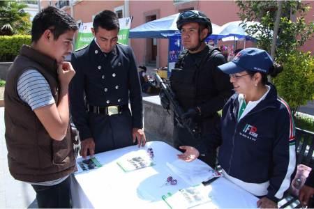 Ofrece SSPH beca económica y título a aspirantes de policía