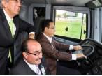 Omar Fayad encabeza banderazo de salida de autobuses Futura Selec4