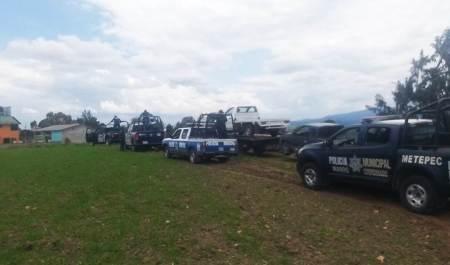 Operativo coordinado policial deja cuatro detenidos en Acatlán
