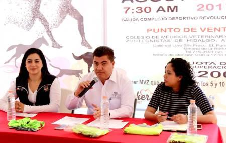 Presentan segunda carrera atlética por la celebración del Día del Veterinario