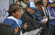 Raúl Camacho encabeza banderazo del inicio de la obra de pavimentación 4