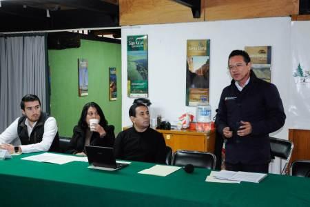 Realizan en Hidalgo reunión nacional de periodistas ambientales