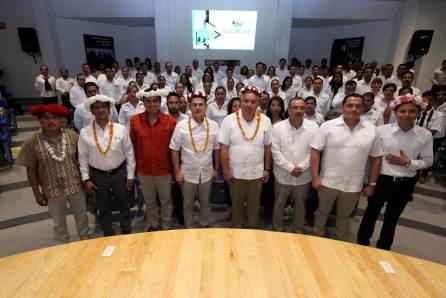 Rector de UAEH toma protesta a nuevos funcionarios en planteles de la sierra y huasteca
