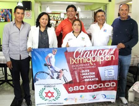 "Regresa evento de ciclismo ""La Clásica de Ixmiquilpan"""