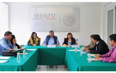 SEDATU Delegación Hidalgo encabeza quinta Sesión de Regularización y Registro de Actos Jurídicos Agrarios.jpg