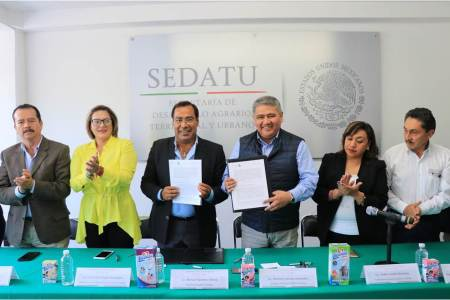 Sedatu Delegación Hidalgo firma convenio de colaboración con Liconsa2
