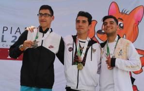 Selección hidalguense de natación sumó 19 medallas en Paralimpiada Nacional 2