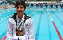 Selección hidalguense de natación sumó 19 medallas en Paralimpiada Nacional 3