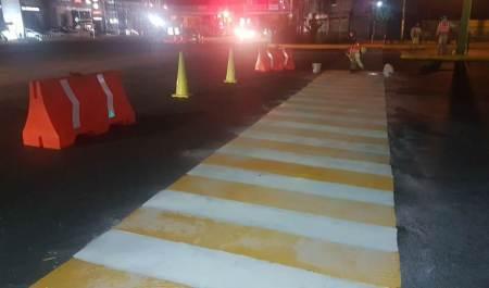 SOPOT da mantenimiento a vialidades de Pachuca2