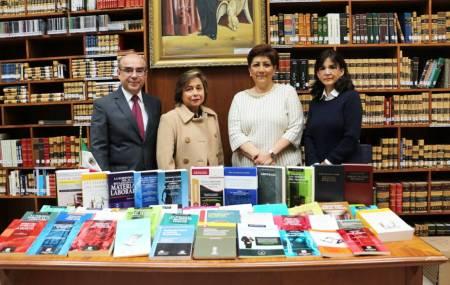 Adquiere 374 libros la Biblioteca del Poder Judicial .jpg