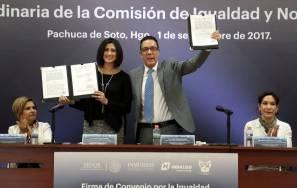 Agenda por la igualdad en Hidalgo, alineada a organismos 1