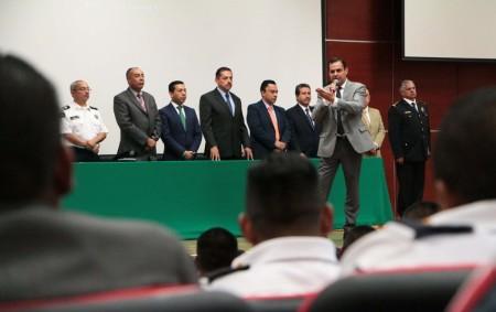 Capacitación permanente fortalece esquema de seguridad en Hidalgo