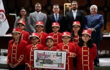 Celebra OSUAEH 20 años con billete conmemorativo de la Lotería Nacional 1