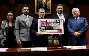 Celebra OSUAEH 20 años con billete conmemorativo de la Lotería Nacional 3