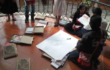 Celebran Día de la Alfabetización y de la Mujer Indígena en círculos de estudio en el IHEA.jpg