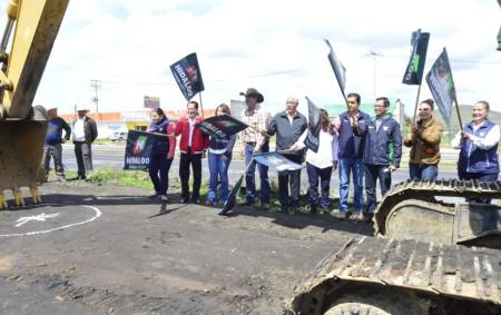 Da SOPOT banderazo de inicio a construcción de puente peatonal en Singuilucan