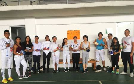 Deportistas hidalguenses reúnen víveres para los damnificados del sismo a través de eventos deportivos .jpg