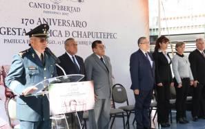 El Gobierno del Estado y la 18va. Zona Militar, conmemoran el 170 Aniversario de la Gesta Heroica de Chapultepec1
