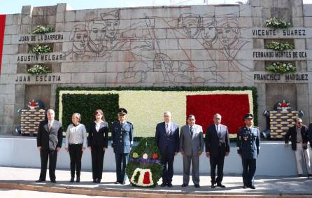 El Gobierno del Estado y la 18va. Zona Militar, conmemoran el 170 Aniversario de la Gesta Heroica de Chapultepec2