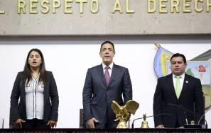 Entrega Omar Fayad Primer Informe de labores al Congreso de Hidalgo1