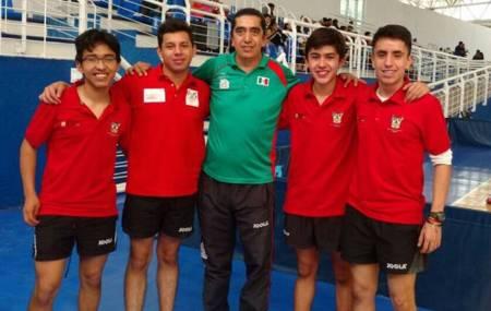 Equipo de tenis de mesa de Hidalgo se adjudica subcampeonato en Nacional de 2da Fuerza