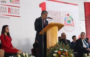 Gabriel García Rojas rinde su primer informe de Gobierno1