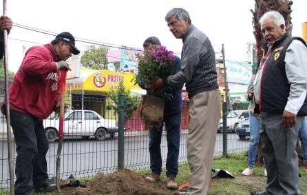 GGR poner en marcha programa de Rehabilitación de áreas Verdes en el Centro de Tizayuca1