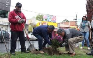 GGR poner en marcha programa de Rehabilitación de áreas Verdes en el Centro de Tizayuca2