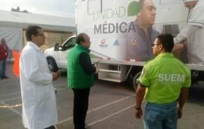 Gobierno de Hidalgo envía brigadas medicas al Estado de Morelos1