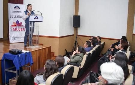 """IMM de Mineral de la Reforma  se fortalece con el proyecto de """"Transversalidad de la perspectiva de  género"""" .jpg"""